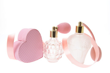 Perfume Bottles and Gift Box