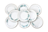 Set of plates poster