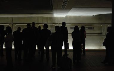 underground subway stop