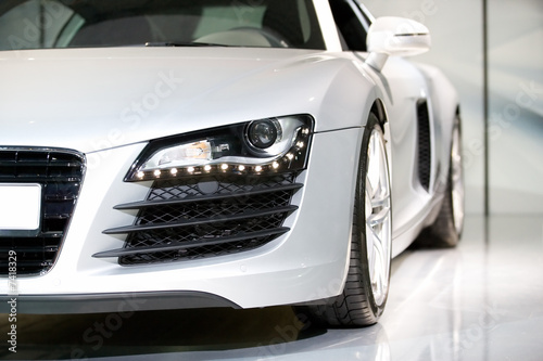 Staande foto Snelle auto s german luxury sport car