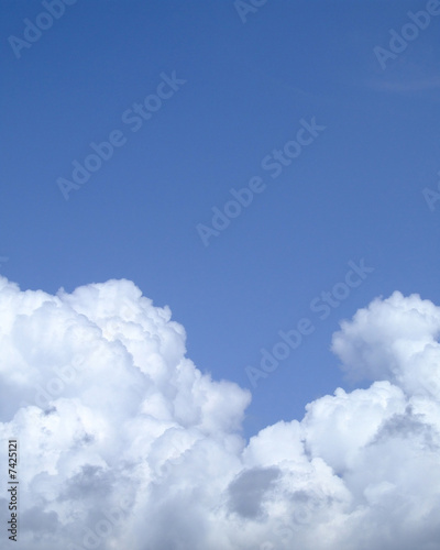 canvas print picture puffy cloud texture