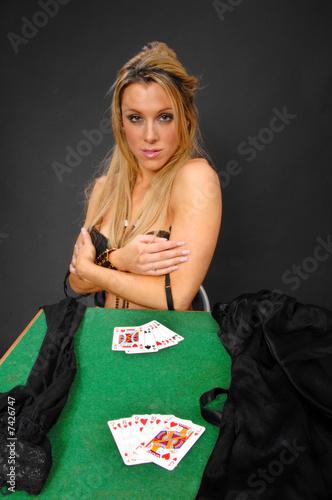 Strip Poker lost.
