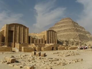 The Step Pyramid of King Djoser at Saqqara