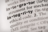 Dictionary Series - Attributes: integrity poster