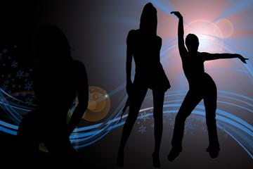 group for dancing hall