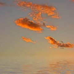 nuages crépusculaires