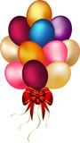 Copula of wonderful balloons poster