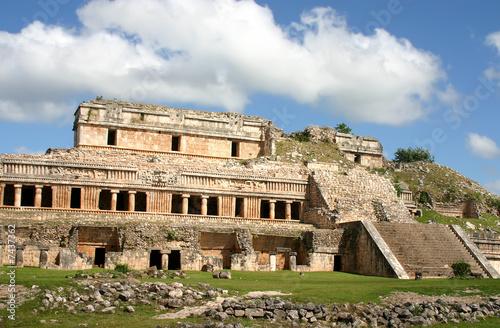Foto op Aluminium Oude gebouw Antique maya ruins