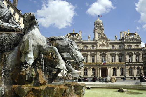Place des Terreaux, Lyon, France - 7440914