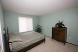 Simple bedroom in condominium poster