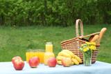 picnic outside poster