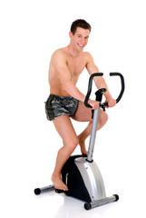 Body Builder, fitness bike