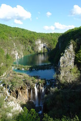 Plitvice from viewing point