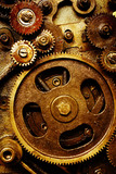 gears from old mechanism poster