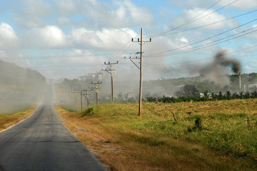 Air pollution in Cuba