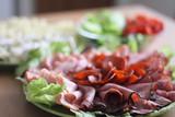 salami dinner poster