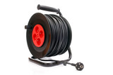 Electrical cable extension reel poster