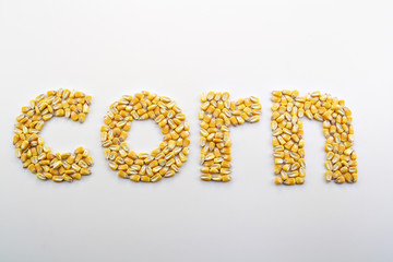 Corn Spelled Out