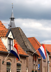Hattem town on Queen's Day