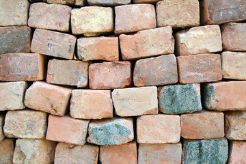 Muro di mattoni a secco