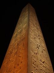 Obelisk outside Luxor Temple