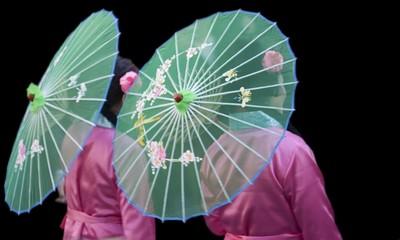 Ballade en ombrelle