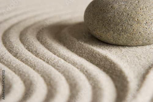 canvas print picture Zen stone