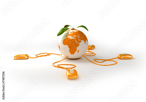 Orange web world