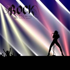 cantante rock