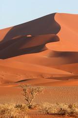 Red Sossusvlei dunes