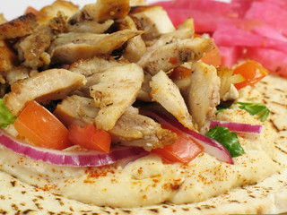 Delicious Chicken Tarna Pita