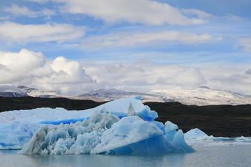 Giant iceberg in Parque Nacional Los Glaciares, Argentina