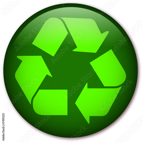 Glassy Recycling symbol