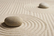 canvas print picture Mini zen garden