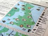 UK weather forecasts poster