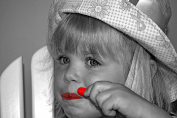 Red Lip Color