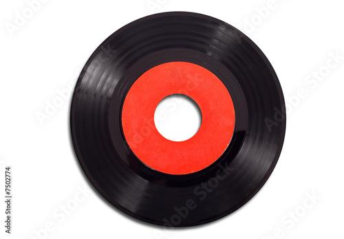 Leinwanddruck Bild Vintage Record Albums