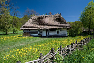Old Polish house