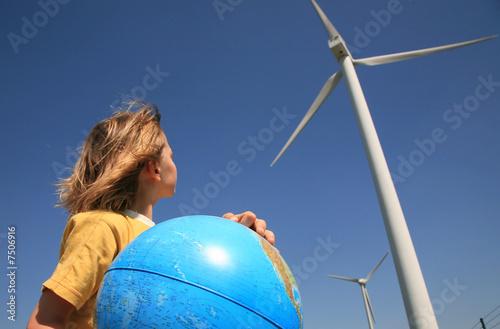 enfant terre écologie - 7506916
