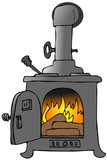 Wood Stove poster