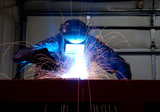 Fototapety welder working