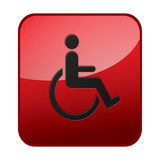 icon, hospital, health, handicapt, wheel chair
