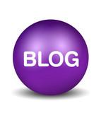 Blog - violet poster