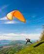 Parapente à Pragondran, Savoie, France