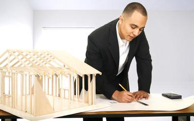 Designer In His Office