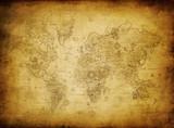 Fototapeta stary - świat - Mapa / Świat
