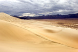 Eureka sand dunes in Death Valley national park, California poster