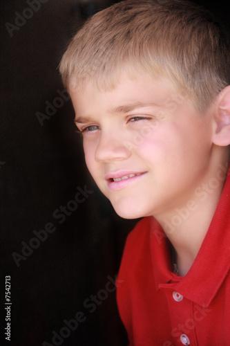 Cute Preteen Boy