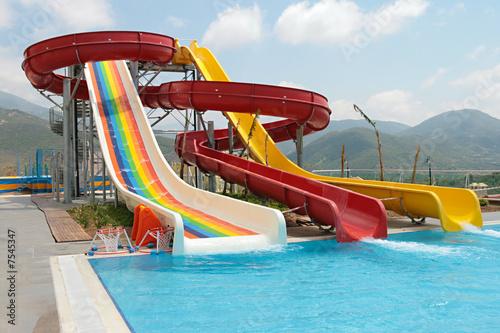 aquapark construction - 7545347
