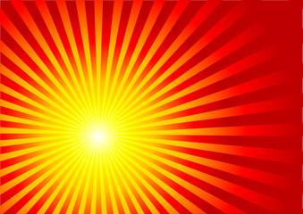 Sommer, Sonnenstrahlen